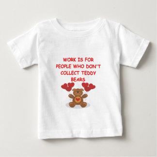teddy bear collector t shirts