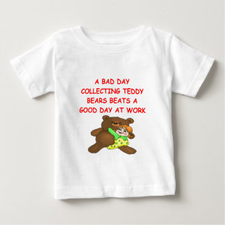 teddy bear collector infant t-shirt