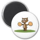 Teddy Bear Cookies Magnets