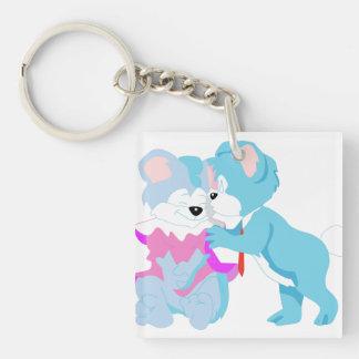 Teddy Bear Couple Key Chains