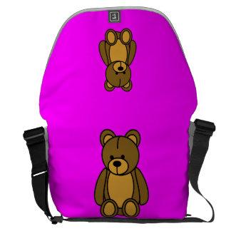 teddy bear courier bag