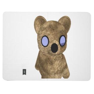Teddy bear cover journal