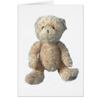 Teddy Bear - Crystal Card
