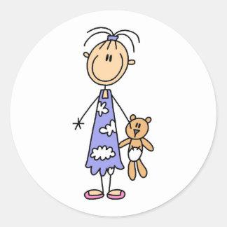 Teddy Bear Cuddle Buddy Sticker