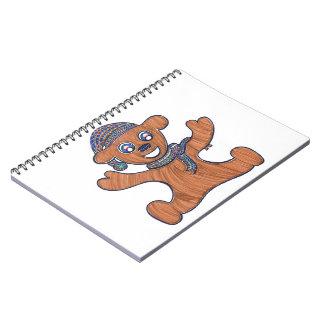 Teddy Bear Cuddles Spiral Note Book