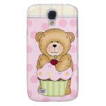 Teddy Bear Cupcake Party Samsung Galaxy S4 Covers