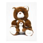 teddy bear customized letterhead