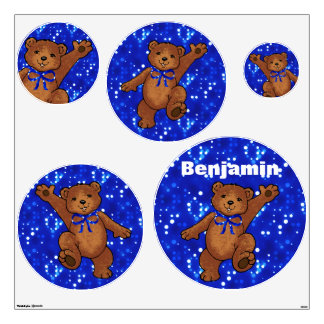 Teddy Bear Delights Wall Sticker
