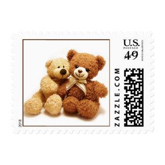 Teddy Bear Design Postage Stamp