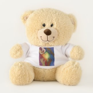 Teddy Bear Diversity Equity Inclusion Hearts Shirt