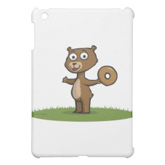 Teddy Bear Donuts Cover For The iPad Mini