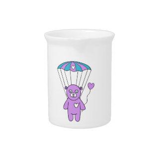 Teddy bear drink pitcher