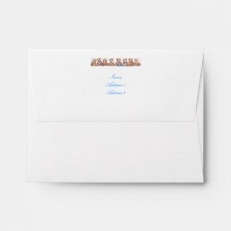 Teddy Bear Envelope