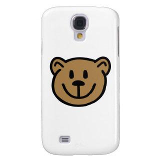 Teddy bear face samsung s4 case