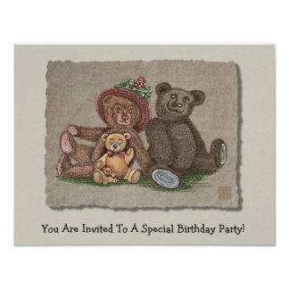 Teddy Bear Family Card