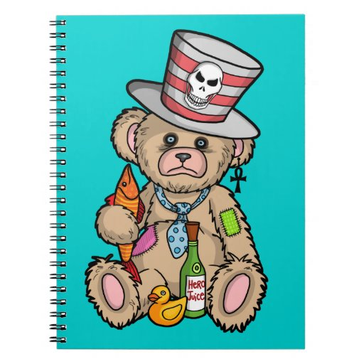 Teddy Bear Filled with Hero Juice Journals