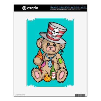 Teddy Bear Filled with Hero Juice Skins For The NOOK