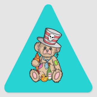 Teddy Bear Filled with Hero Juice Stickers