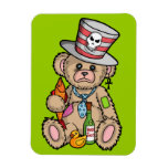 Teddy Bear Filled with Hero Juice Vinyl Magnets