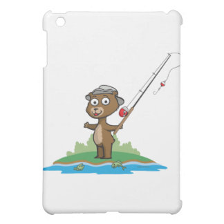 Teddy Bear Fishing Cover For The iPad Mini