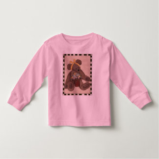 Teddy Bear Flowers Toddler T-shirt