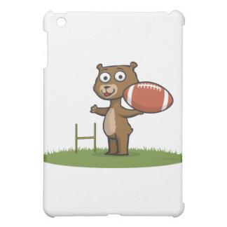 Teddy Bear Football iPad Mini Cover