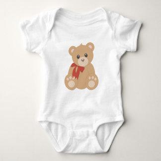 """""""Teddy Bear"""" for Boys Baby Bodysuit"""