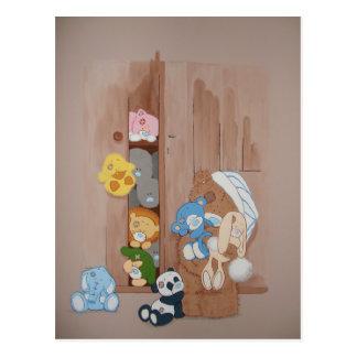 Teddy Bear & Friends Postcard