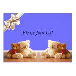 Teddy Bear Friends Set 5x7 Paper Invitation Card