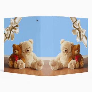 Teddy Bear Friends Set Binder