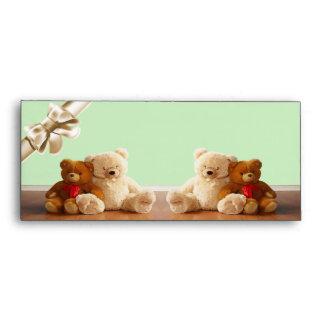 Teddy Bear Friends Set Envelope