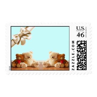 Teddy Bear Friends Set Stamp