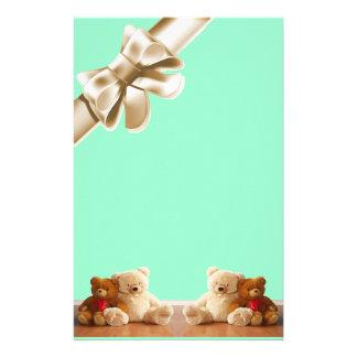 Teddy Bear Friends Set Stationery