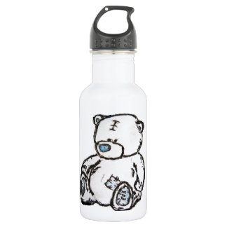 Teddy bear from the attic stainless steel water bottle