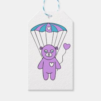 Teddy bear gift tags