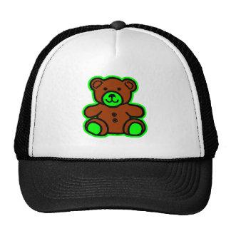 Teddy Bear Green Brown The MUSEUM Zazzle Gifts Trucker Hat