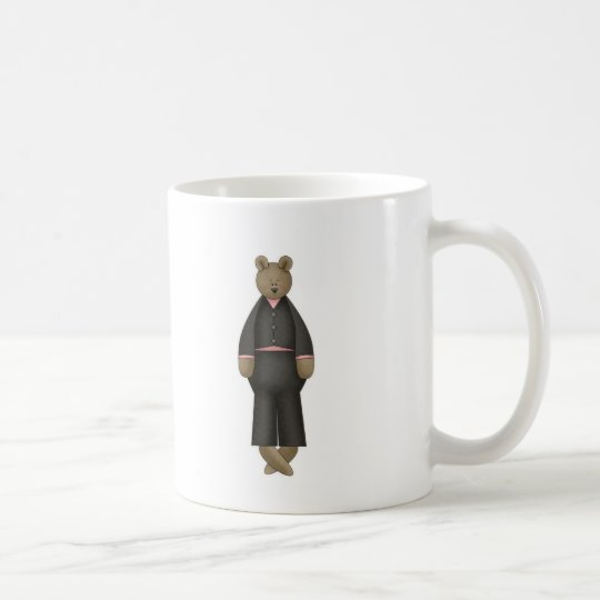 Teddy Bear Groom Coffee Mug