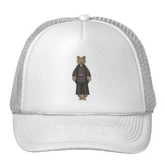 Teddy Bear Groom Trucker Hat