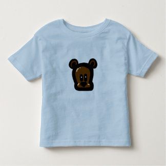 Teddy_Bear_Head Toddler T-shirt