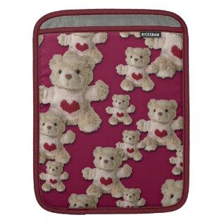 Teddy Bear Heart iPad Sleeve