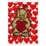 Teddy Bear Hearts Cards