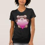 TEDDY BEAR HOLDING HEART T-Shirt