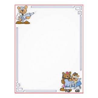Teddy Bear Hospital Letterhead