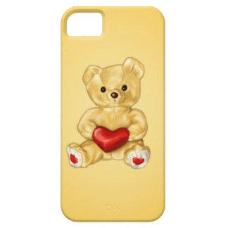 Teddy Bear Hypnotist With A Heart Cute iPhone SE/5/5s Case