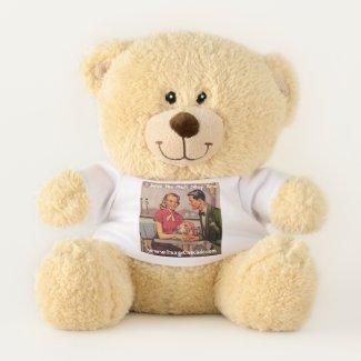 Teddy Bear: I love the malt shop era! Teddy Bear