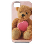teddy bear I luv u iphone tough case iPhone 5 Cases
