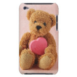 teddy bear I luv u ipod barely there case iPod Touch Cover
