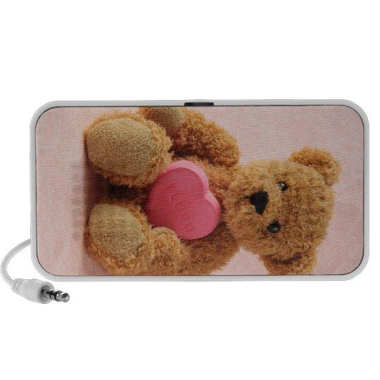 teddy bear I luv u Mini Speaker