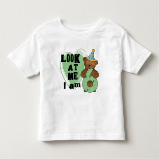 Teddy Bear I'm 6 Birthday T-shirts and Gifts