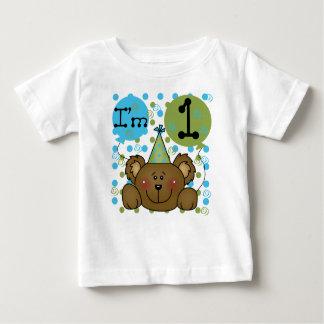 Teddy Bear I'm One First Birthday T-shirt